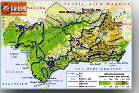 Andalusië alle routes