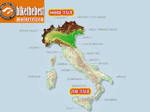 Motorreizen Noord Italië