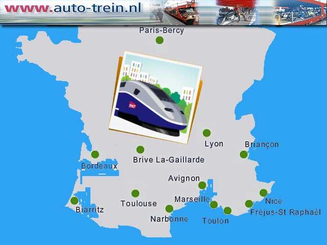 SNCF bikertrein naar Zuid Frankrijk